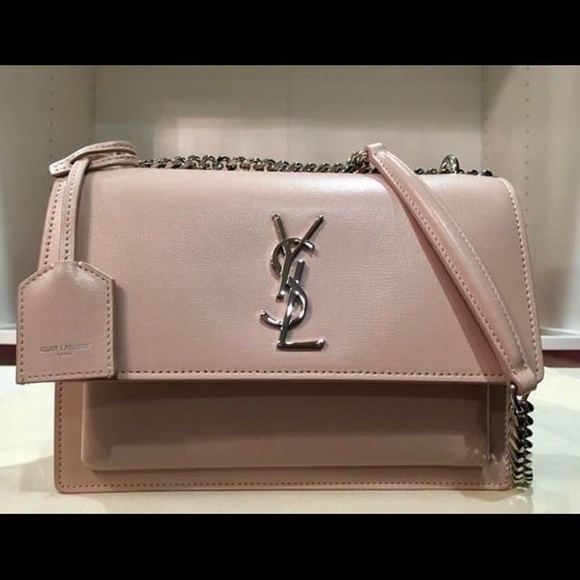b3ad5b4c3ac Yves Saint Laurent Bags | New Saint Laurent Sunset Medium Light Pink ...